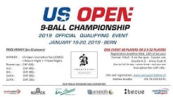 US Open Qualifier - Bentelis's Bern / Switzerland powered by Tournament APP & REELIVE