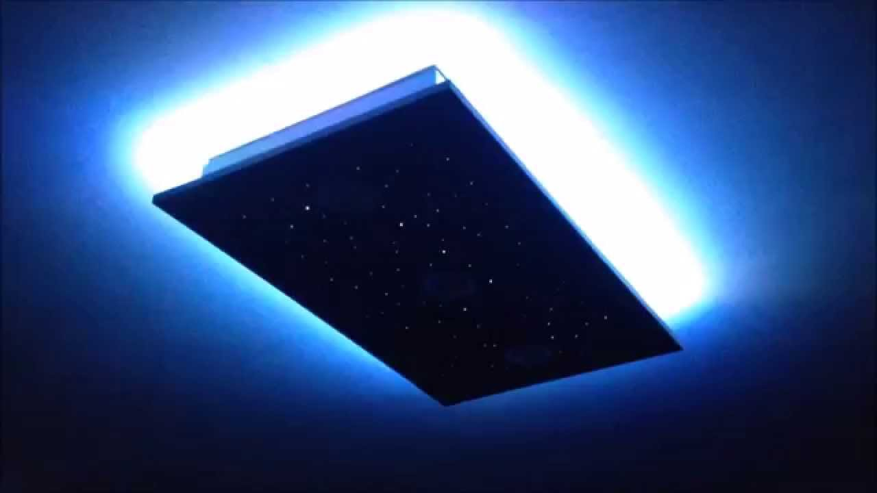 Lampadario Cielo stellato led Fai Da Te - YouTube