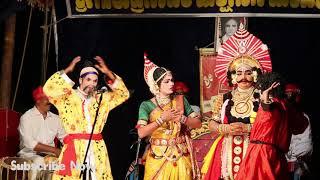 Yakshagana Pushpa Chandana | ನಕ್ಕು ನಗಿಸುವ ಹಾಸ್ಯ | Jarkala  |  Kyadagi | Subramanya Dhareshwara