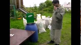 зернодробилка ИКБ. Год эксплуатации. Зерно, корнеплоды, трава