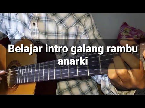 Belajar gitar - kunci gitar ( galang rambu Anarki )