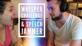 Drunk Whisper Challenge & Speech Jammer Challenge