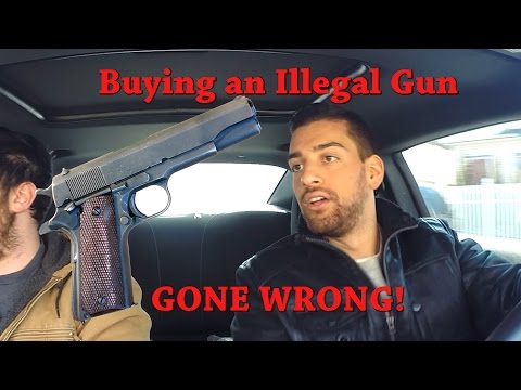 ILLEGAL GUN in New York (GONE WRONG) Social Experiment