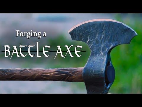 Forging A Double Bladed [Battle Axe] - Bellerophon Studios