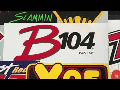 WBSB B104 Baltimore - Willie B - 1980