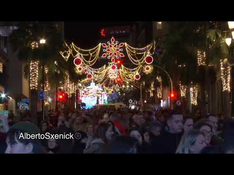 Paseo por las luces de Navidad en Vigo