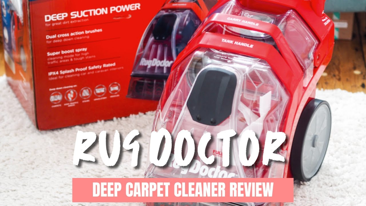 Rug Doctor Deep Carpet Cleaner Review Shocking Results 2018