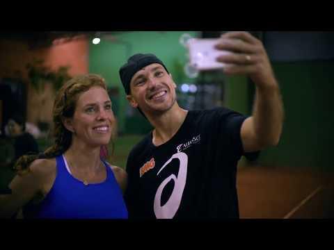 ASICS - Clínica de Tennis com Bruno Soares