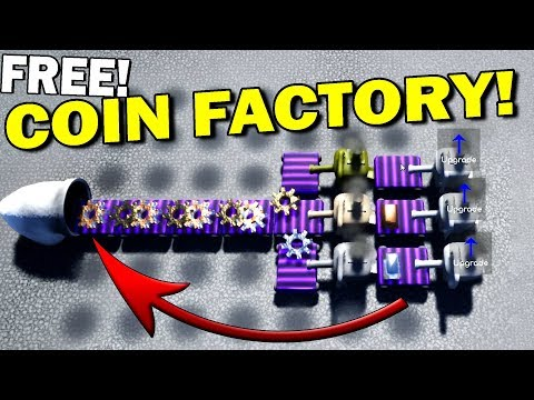 FREE COIN FACTORY BUILDING GAME! - Coin Factory Gameplay Fir