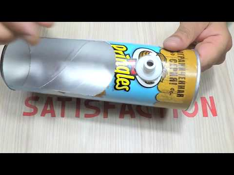 HOW TO MAKE PRINGLES Drink Water COOLER DISPENSER