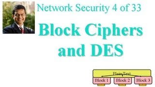 CSE571-11-03: Block Ciphers and DES