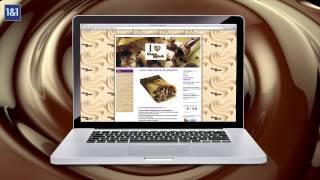 Dai inizio alla tua storia di successo e crea il tuo sito web con 1&1 MyWebsite!