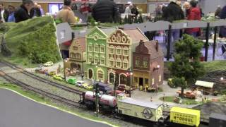 Model: Trains/Locomotives  in action: Hobby Fair 2017: Ho Scale***