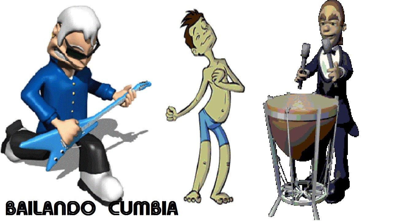 ANIMADOS BAILANDO CUMBIA (MUNDO INFANTIL)