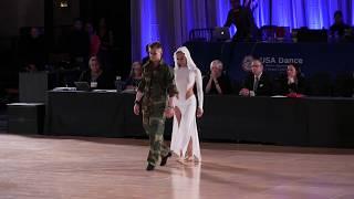 2018 USA National Latin Showdance Championship - Igor Golovach and Michelle-Angela Blank
