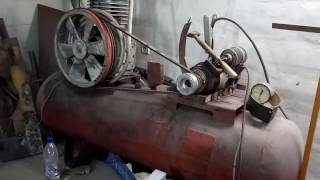 пуск компрессора от стартера вместо двигателя