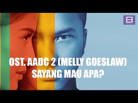 Melly Goeslaw - Sayang Mau Apa [Video Lirik]