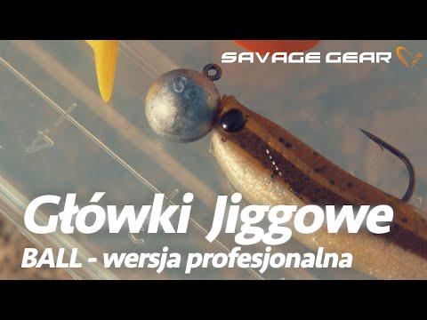 Savage Gear Ball Jig Heads Tournament with Stinger Eye Bulk #8//0 5pcs NEW 2019