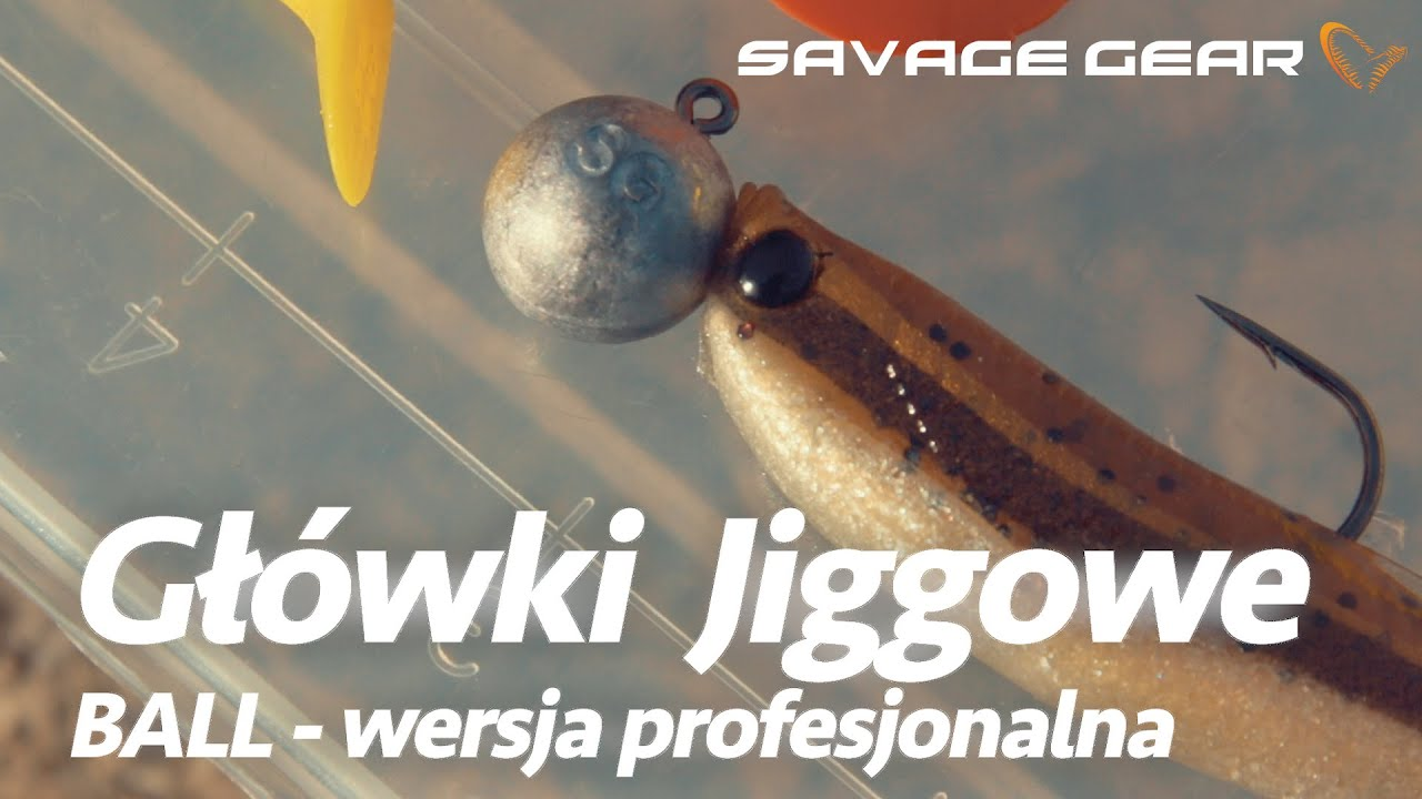 Soft baits NEW 2019 Savage Gear Ball Jig Heads Tournament Bulk #4//0 5pcs