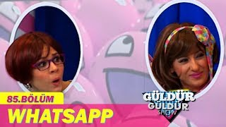 Güldür Güldür Show 85. Bölüm, Whatsapp Skeci