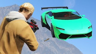 SNIPERS vs STUNTERS! (GTA 5 Online)