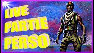LIVE PARTIE PERSO FORTNITE PP/CODE CREATEUR: CROCODEAL61/KDO A GAGNER