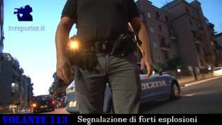 Segnalazione di forti esplosioni #VOLANTE113