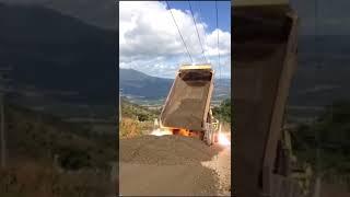 Exicuted dump truck 2019