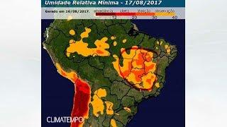 Umidade beirando 12% em áreas do BR