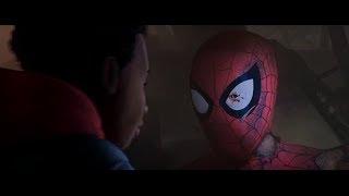 Super collider is activated/Death of Spider-Man (Spider-Man Into the Spider-Verse)