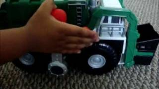tonka garbage truck strong arm