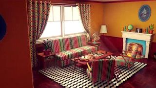 UE4 - Customizable Retro Living Room