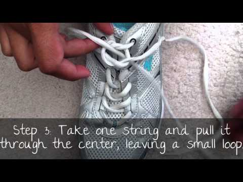 Different Way to Tie Shoes - Easy for Kids