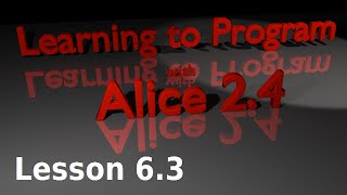 Alice Tutorial 2.4 Lesson 6.3 - Nested Do Together (horse Race Animation)