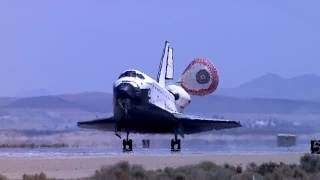 STS-111 Space Shuttle Endeavour Returning from ISS Mission