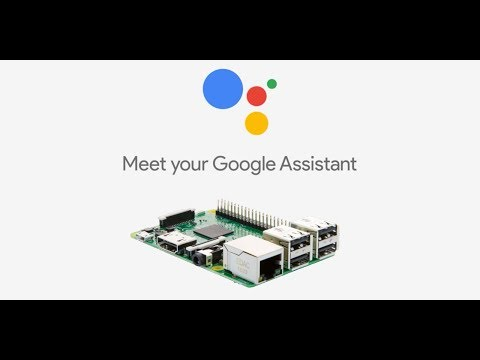 Headless Voice Activated Google Assistant on Raspberry Pi  w