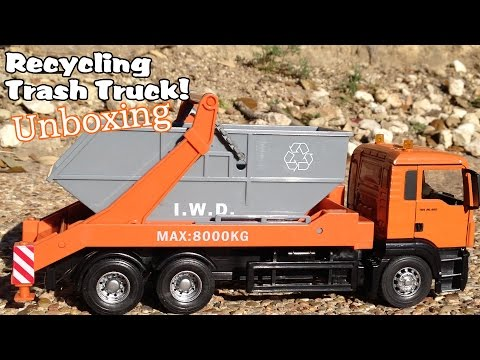 Garbage Truck Videos For Children l Recycling Toy Trash Truck - Unboxing l Garbage Trucks Rule