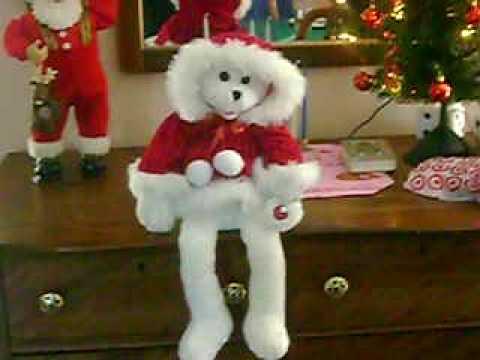 Santa baby singing bear!