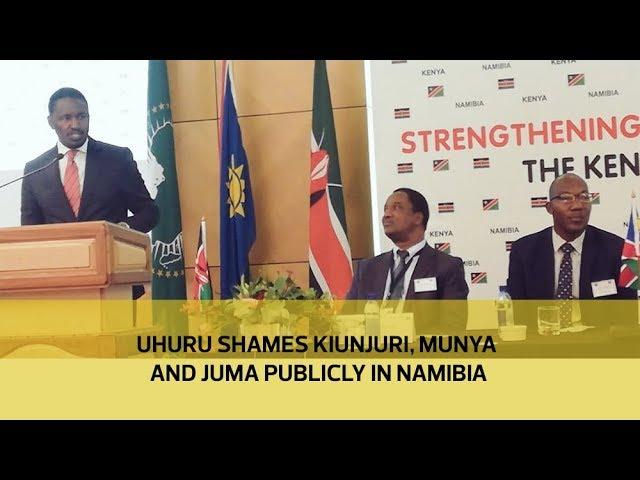 Image result for uhuru and kiunjuri in Namibia