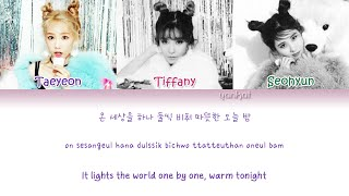 Girls' Generation-TTS (소녀시대-태티서) - Merry Christmas (Color Coded Han|Rom|Eng Lyrics) | by Yankat