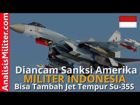 Keren! Diancam Sanksi Amerika, Indonesia Justru Bisa Tambah Jet Tempur Sukhoi Su-35 Rusia