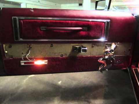How to repair the power window motor of a 78 Lincoln Continental Mark V (also 77 and 79)