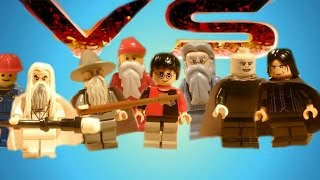 Lego Wizard Battle