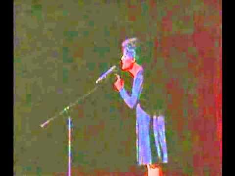 Estrellita as Piaf (BENT Cuba Campaign)