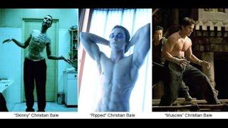 Christian Bale i jego ekstremalna przemiana. Ponad 50 kg różnicy