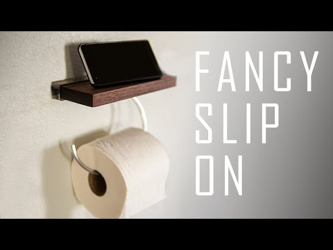 Toilet Roll Holder | Bathroom Phone Holder