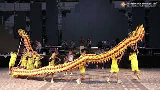 Tứ Câu thi múa rồng[lion dance festival 2019 sun world da nang wonder