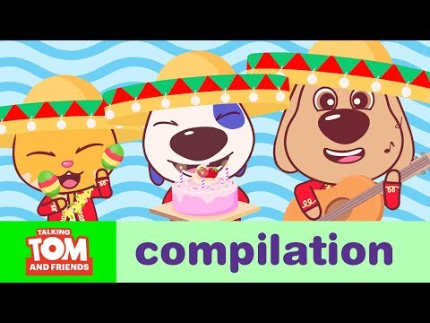 FUN TIMES - Talking Tom And Friends Minis Cartoon Compilation