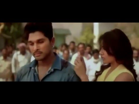 Last scene of Son of Satyamurthy (Very emotional)-allu arjun,samantha