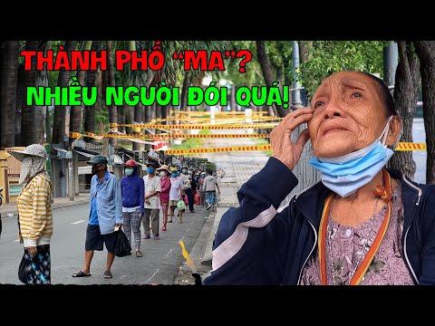 Thảm cảnh chưa từng thấy ở Sài gòn, người khóc không có cơm ăn I Phong Bụi